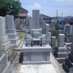 【和型墓石】岡崎市西光寺